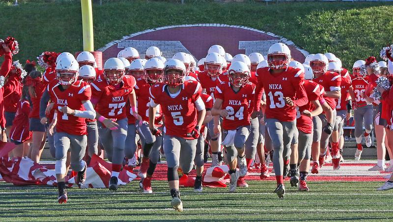 Nixa Eighth Grade Football vs. Ozark