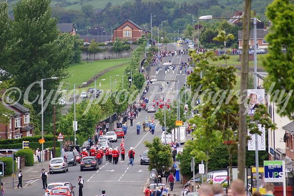 Ballysillan Memorial Parade 24.05.14