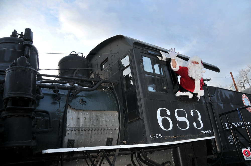 Description of . Santa and his crew will be on board the Santa Claus Special.