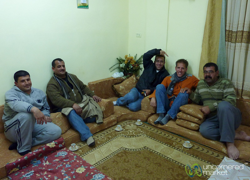 Family Dinner in Azraq, Jordan