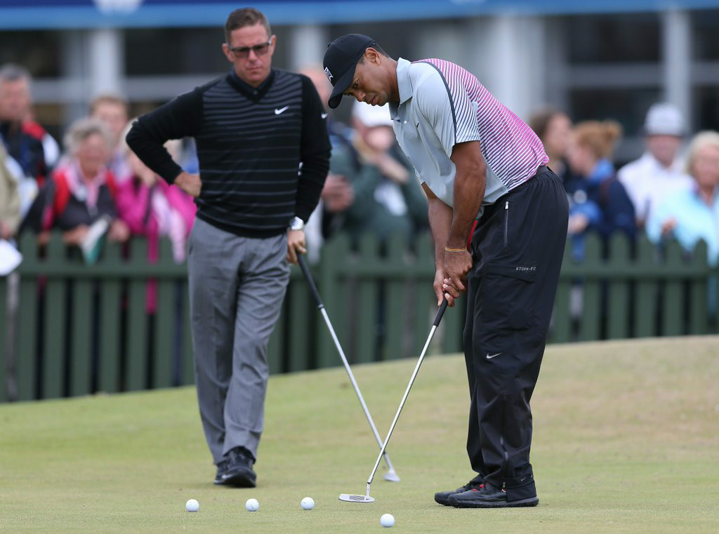 """. 3. (tie) TIGER WOODS <p>Is the swing coach the reason for his implosion? Or his swinging? Hmmmm � (unranked) </p><p><b><a href=\""""http://www.golfdigest.com/blogs/the-loop/2014/08/tiger-woods-announces-hes-spli.html\"""" target=\""""_blank\""""> LINK </a></b> </p><p>   (AP Photo/Scott Heppell)</p>"""