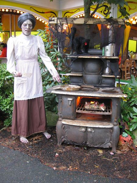 Zombie cook.