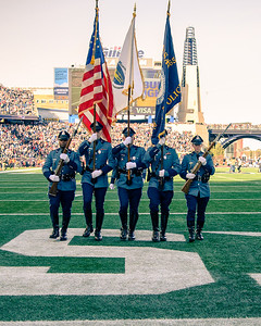 Honor Guard - Air Wing Fly Over at Patriots Dolphins Game - 12.29.2019