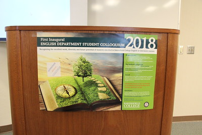 2018: English Student Colloquium