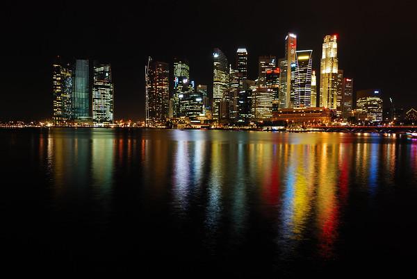City Scapes - Marina Bay - Flyer - Merlion