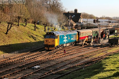 Bluebell Railway Diesel Gala - March 2017