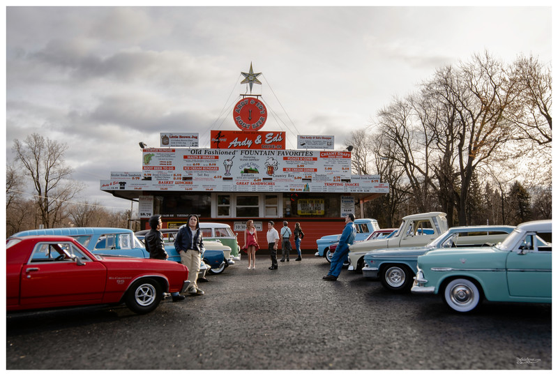 Classic Cars at Ardy & Ed's Drive -In