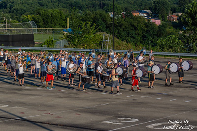 7-31-2017 Norwin Band Camp Day 1
