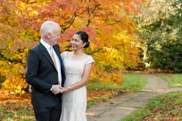 Bob & Riza Private Preshoot & Wedding