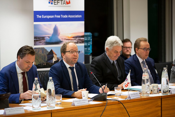 2019-11-19 EFTA Advisory Bodies meeting with Foreign Ministers