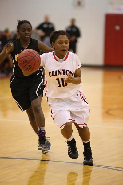 Clinton Vs. Starkville Basketball 2.24.14