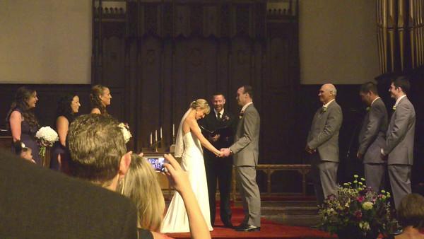 Rachel and Dave Wedding