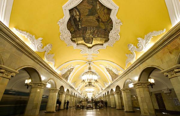 Komsomolskaya Station, Moscow..jpg