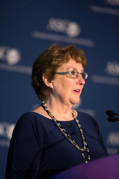 Deborah Mayer, PhD, RN, speaks during National Cancer Center Moonshot Initiative Briefing