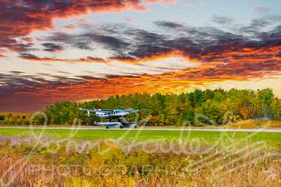 Painted Lady Series - C208 Cessna  Caravan - Volume One