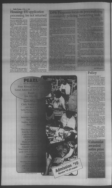 Daily Trojan, Vol. 133, No. 51, April 03, 1998