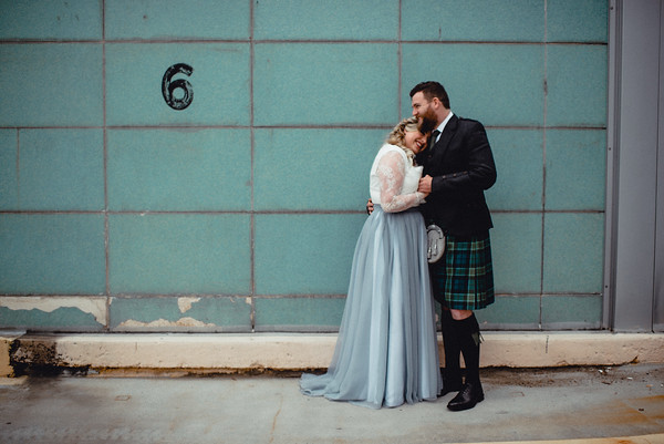 Emma + Mike Scottish Wedding at the Priory