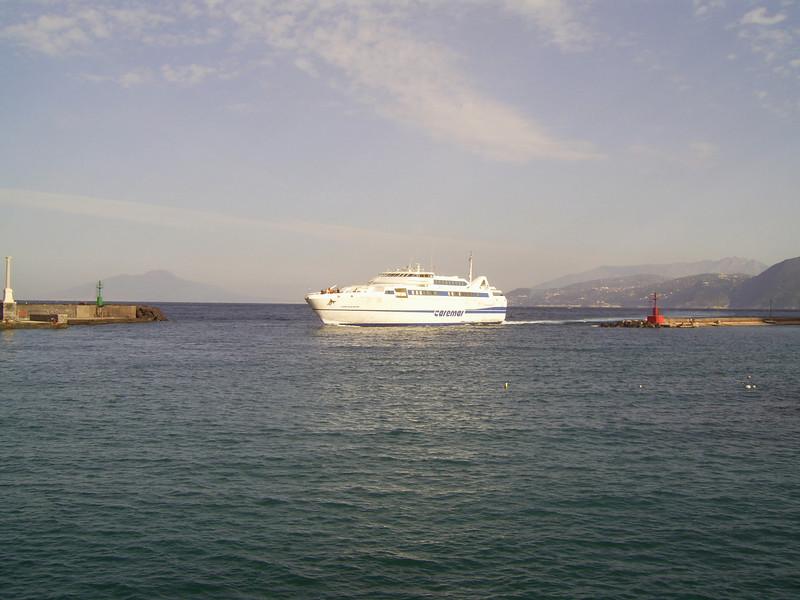 2007 - HSC ISOLA DI PROCIDA arriving to Capri.