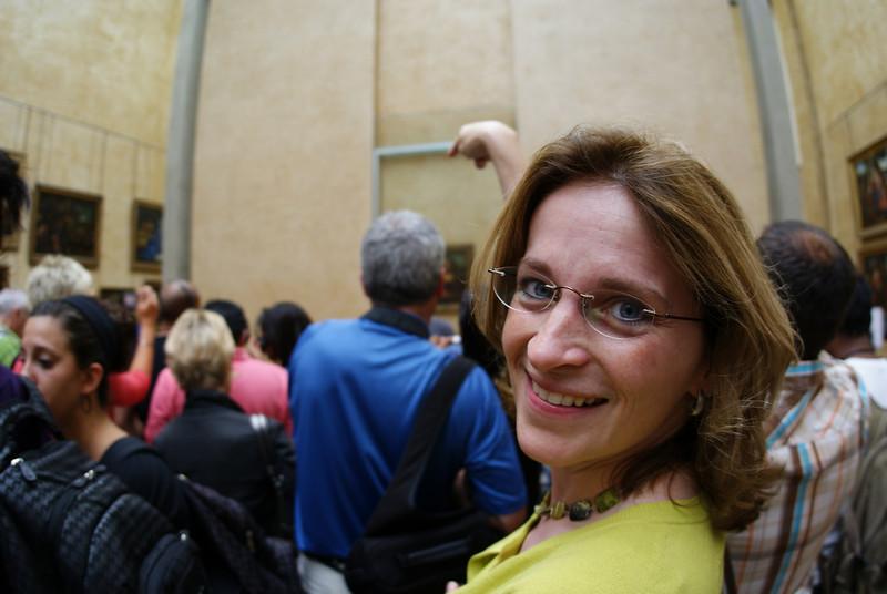 Mona Lisa back there.  Check.
