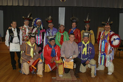 Indian Degree Team at India Shrine - OKC