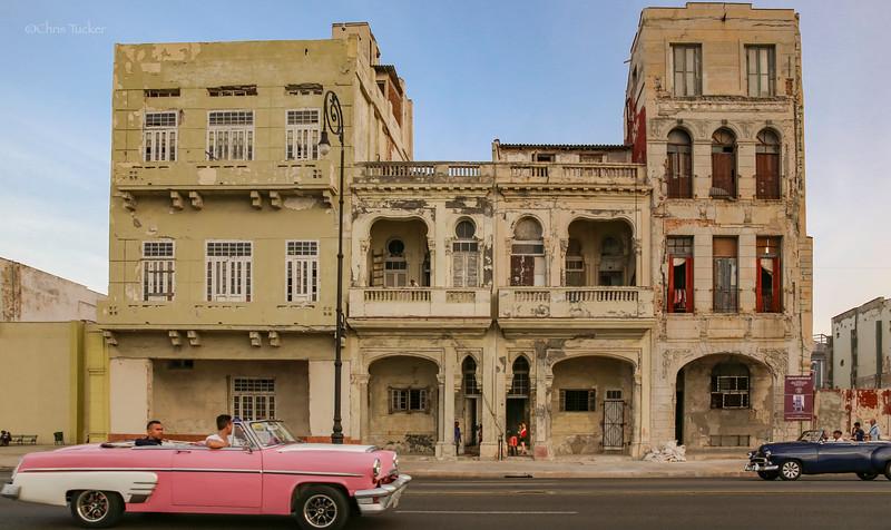 Classic Cars on the Havana Malecon 8
