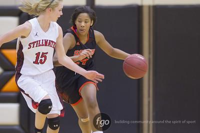 1-10-15 Stillwater v Minneapolis South Girls Basketball