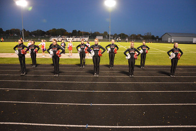 2016 Fall Dance Team DeForest Game