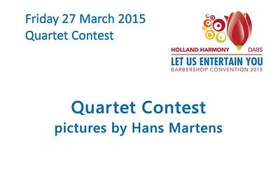2015-0327 HH Conv -Quartet Contest (hans)