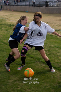 CCS JH Soccer Scrimmage, March 6