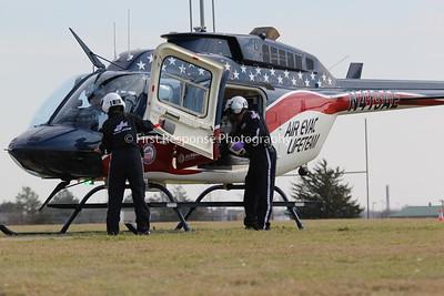 Air Evac, Hunt County TX.