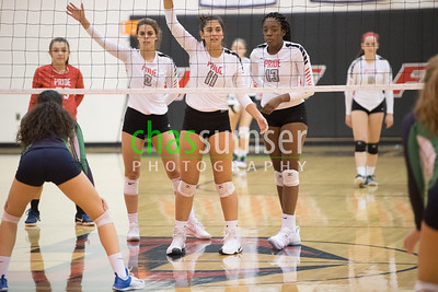 2017.10.17 Volleyball: Woodgrove @ Heritage