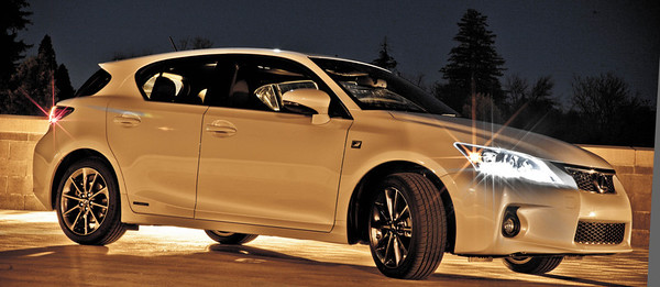 Lexus CT200h F Sport 2012