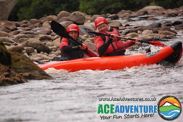 31st of July 2013 Canoe & Kayak middle Findhorn