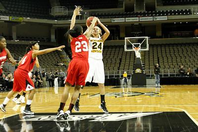 NKU Women's Basketball vs Youngstown State 11-27-2012