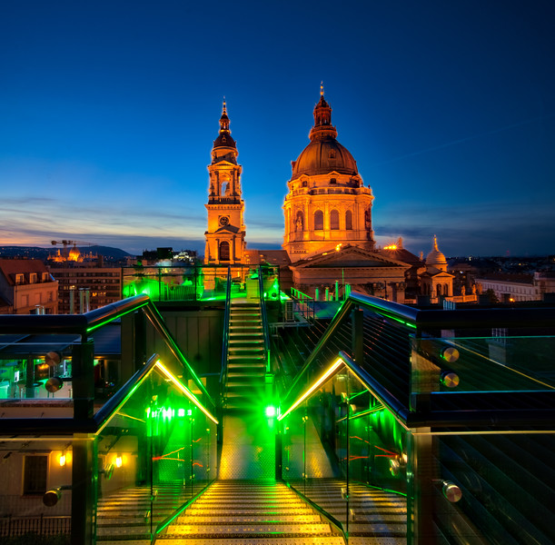 Rooftop Drinks in Budapest