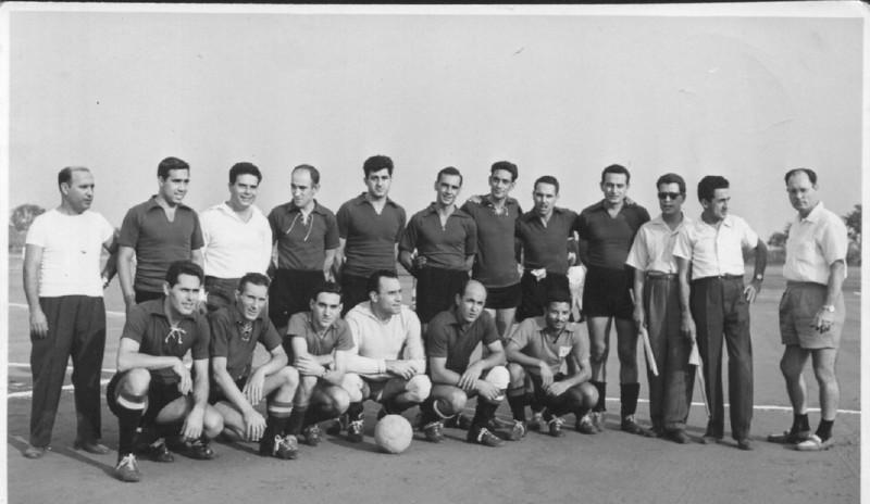 Soares, Joel, Arlindo Matos, Taira, Caetano, Humberto Sousa, Sotta, Cerejeira