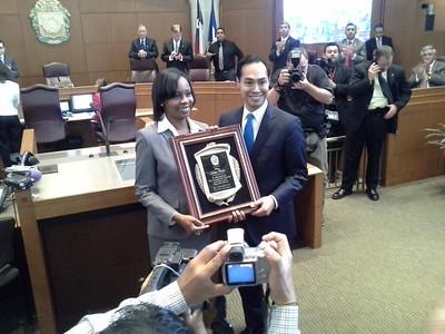 Mayor Taylor makes history
