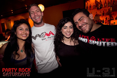 U-31 Party Rock Saturdays