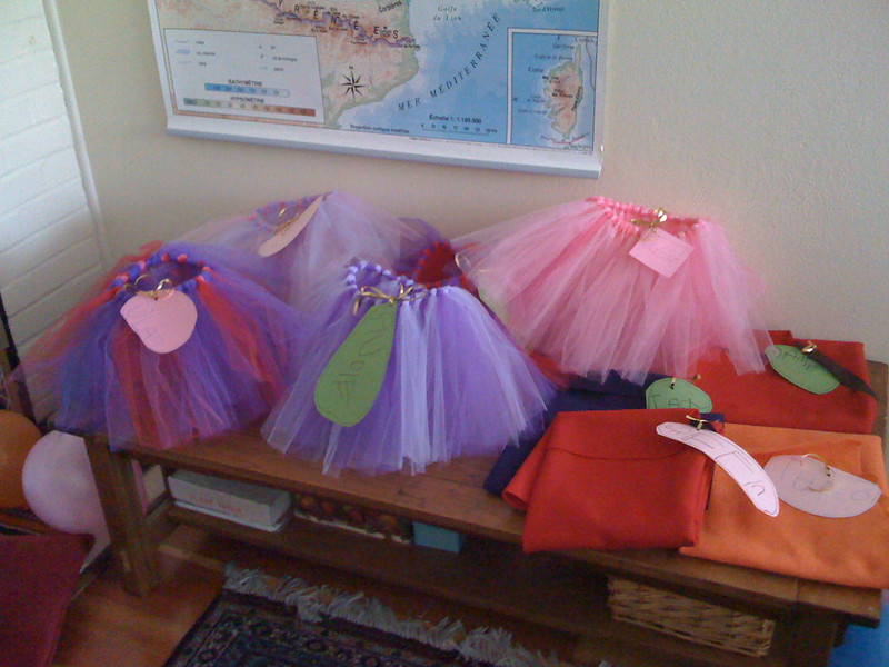 Magical Dressup Party favors
