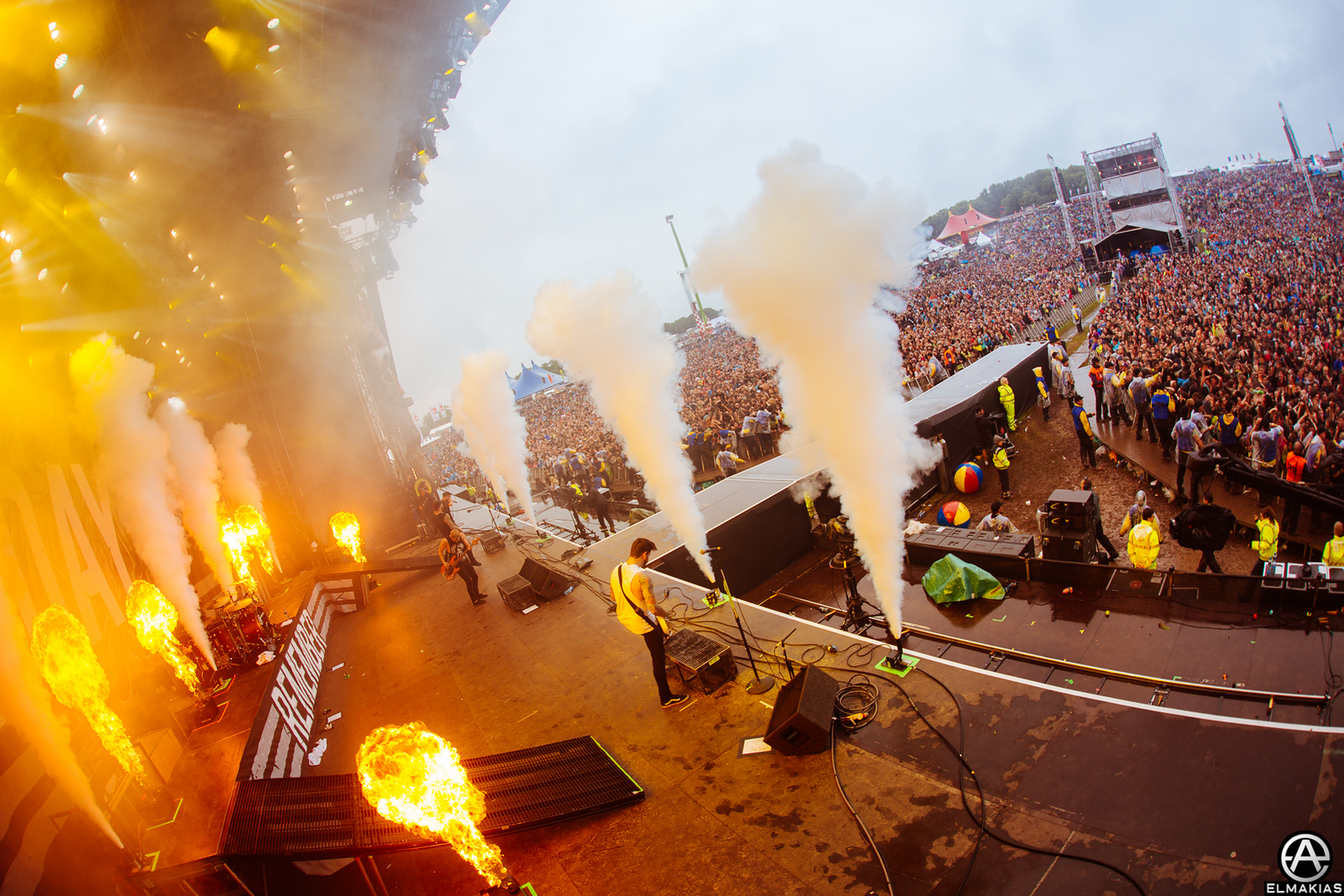 A Day To Remember live at Download Festival in Leicestershire, England