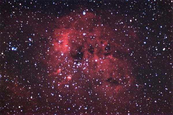 2010 NOV: Erste Erfahrungen mit Schmalband am NGC1893