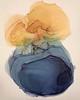 """Back-Jordan, 26""""x20"""" painting on paper"""