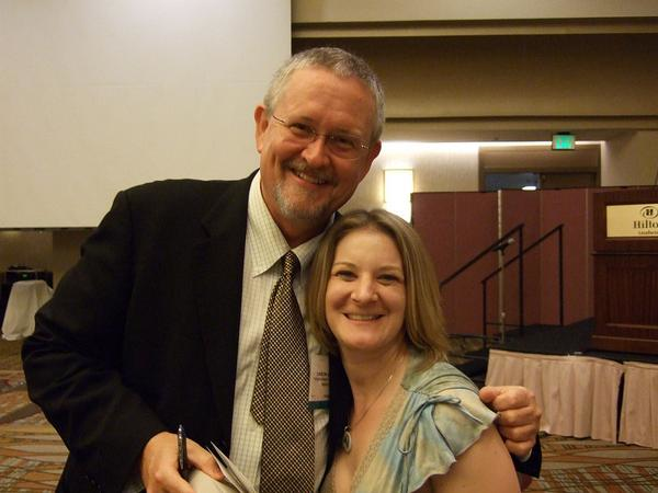 Teen & Adult Author Orson Scott Card and Ms_ Heather.jpg
