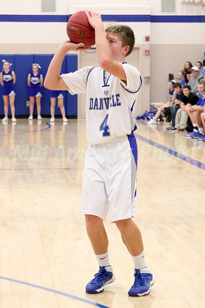 Boys Basketball, New London vs Danville 12/17/2013