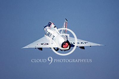 AFTERBURNER: US Air Force Convair F-106 Delta Dart Interceptor Afterburner Pictures