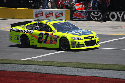 Charlotte Nationwide Race Spring 2013