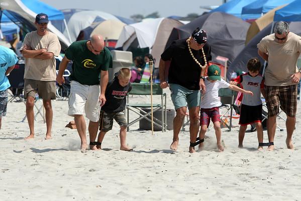 Surf Camp 3-Legged Race