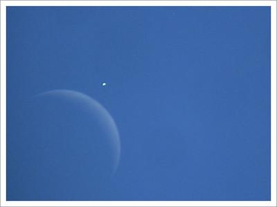 Zákryt Venuše Měsícem