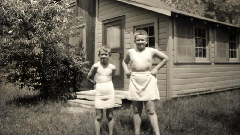 John and Ron 1953