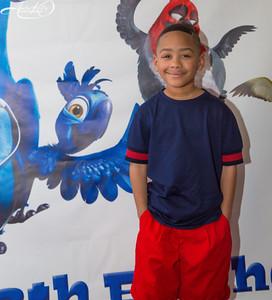 Zi'on's RIO Themed 8th Birthday